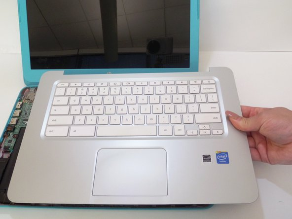 HP Pavilion 14-q020nr  Keyboard & Touchpad Dissassembly