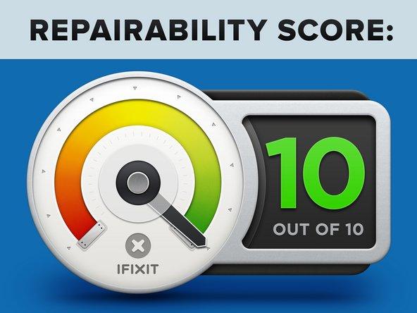 Score de réparation du rack de serveur de WoW (HP ProLiant BL25p) : 10 sur 10.