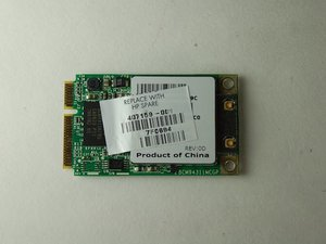 Wifi antenna card