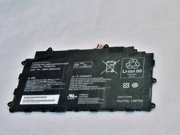 Fujitsu Lifebook Stylistic Q584 Battery  Replacement