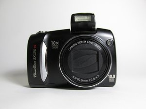 Canon PowerShot SX120 IS Troubleshooting