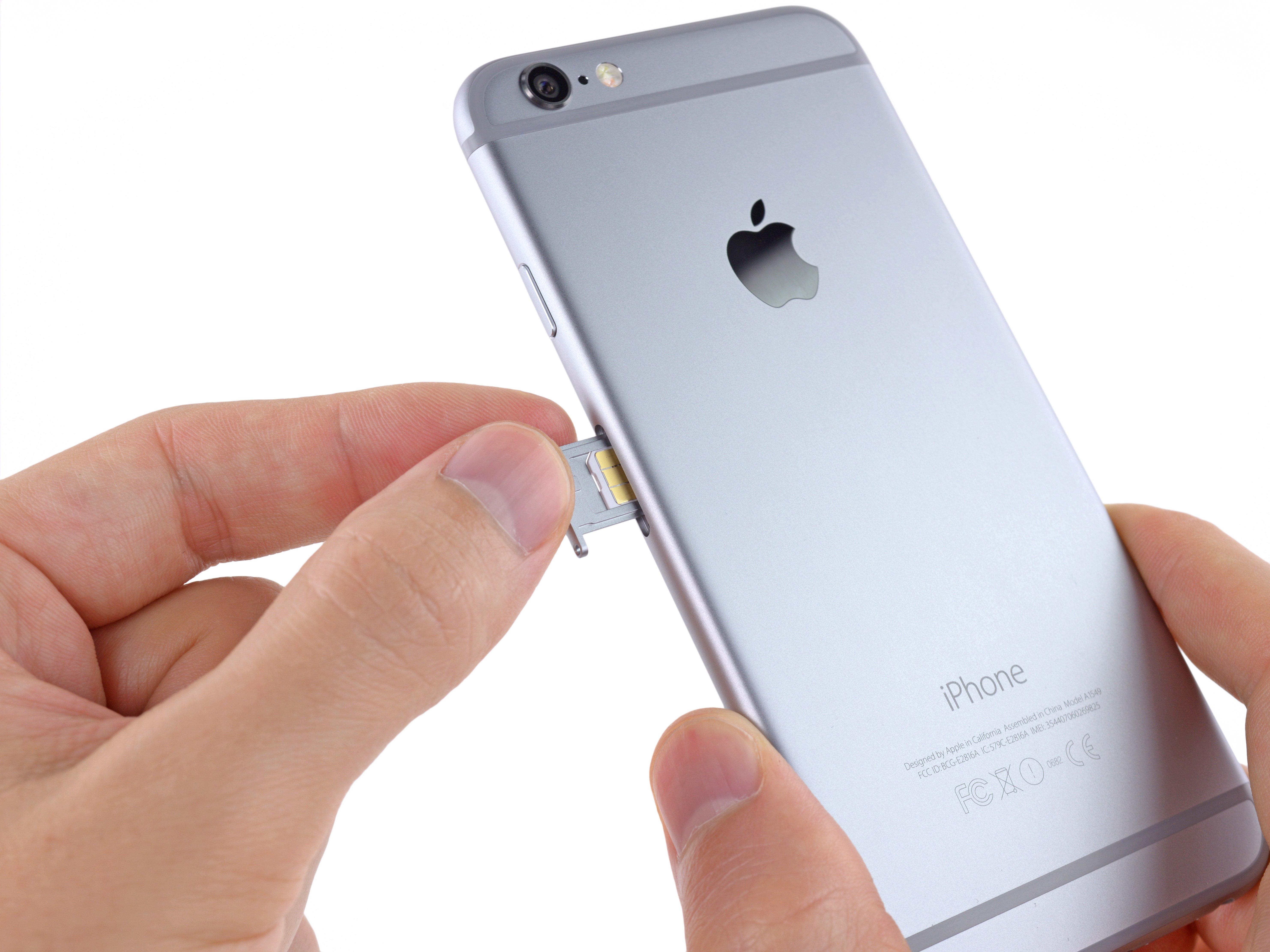 iPhone 6 SIM Card Replacement - iFixit Repair Guide