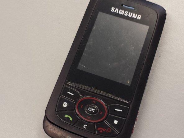 Remplacement de l'ensemble clavier du Samsung Blast