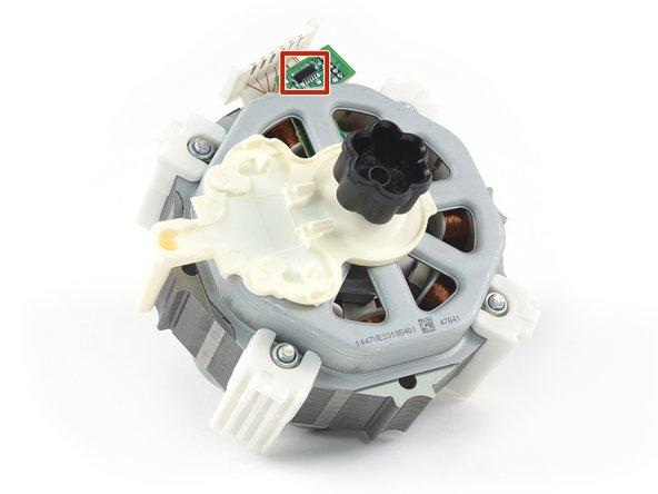 Thermomix TM5 Motor Halterung Aufnahme