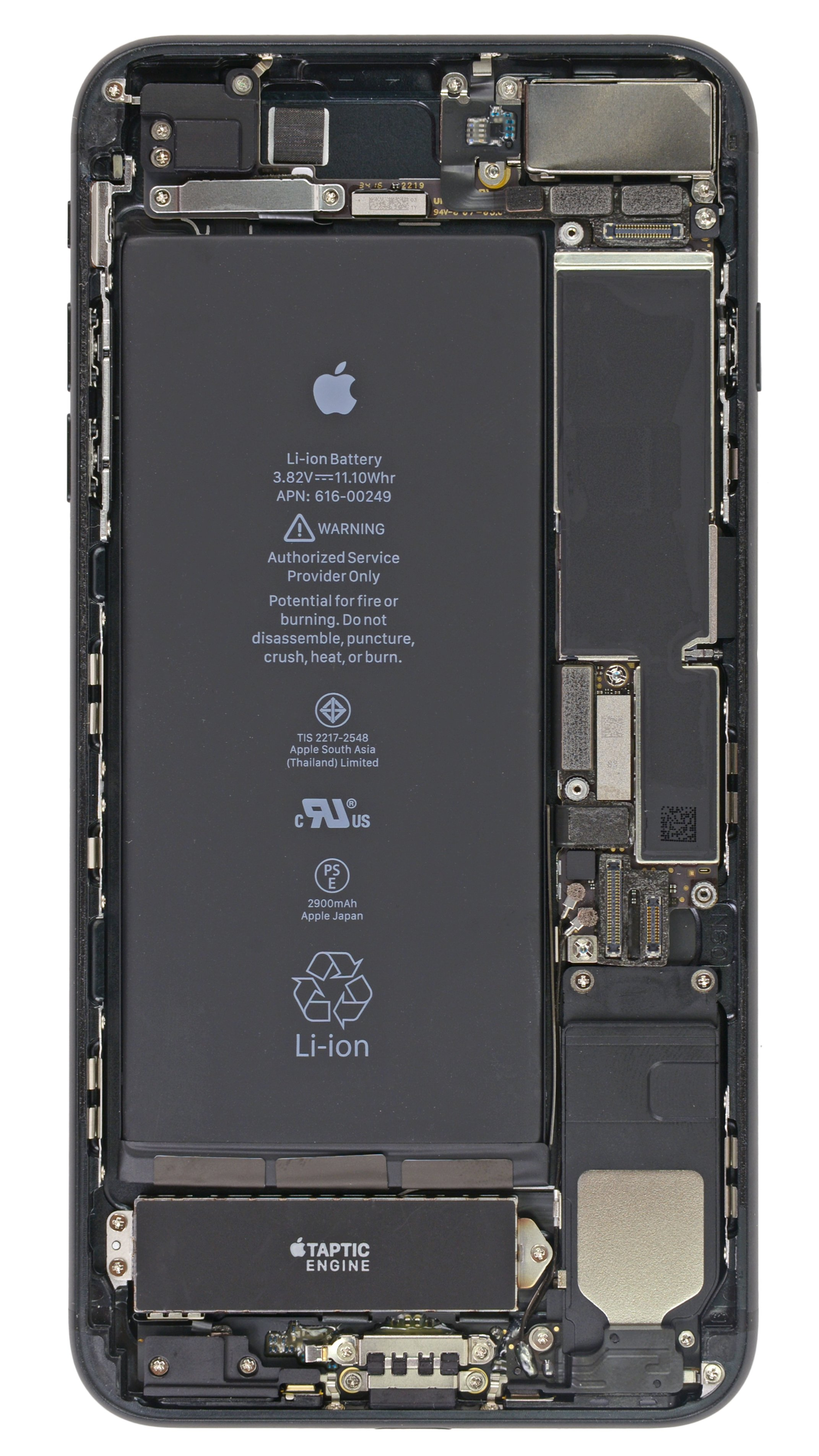 Turn Your Phone Inside Out Iphone 7 And 7 Plus Internals