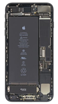 iPhone 7 Plus internals wallpaper