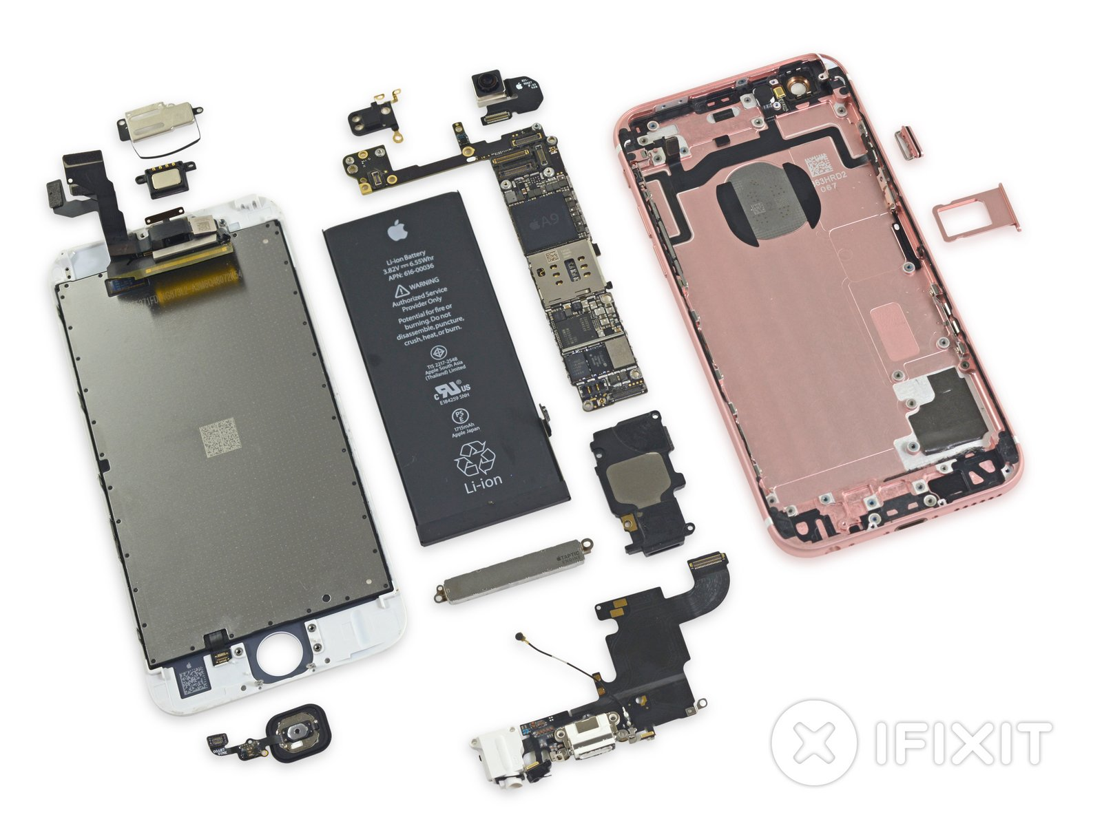 Iphone 6s teardown ifixit ccuart Images