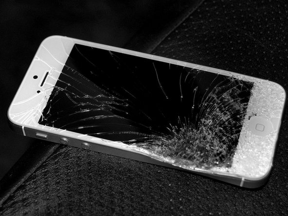 If you've got a cracked screen and faulty touch issues, or recently dropped the phone, your first step should be to check with a replacement screen installation. Use an iFixit Guide to learn how to install the screen, and see if a replacement fixes the problem.