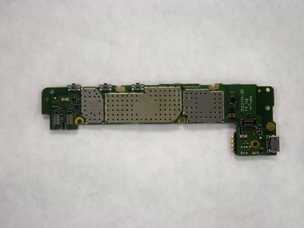 Carefully remove the light swap display from the chassis by applying pressure to the circuit board.