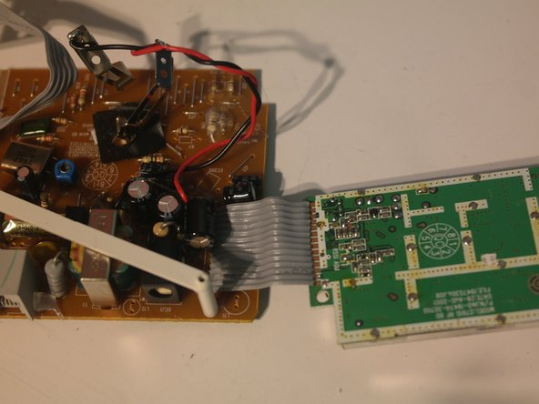 The wireless module can be cut away from the logic board.