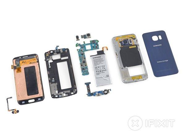 Samsung Galaxy S6 Edge Teardown