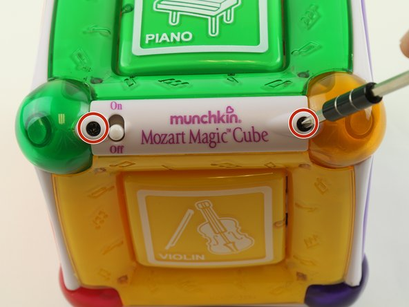 Munchkin Mozart Magic Cube Face plate  Replacement