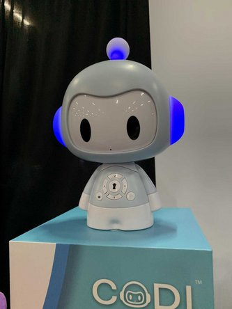 Codi the robot at CES