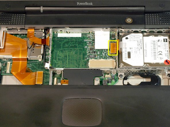 PowerBook G3 Pismo Hard Drive Replacement