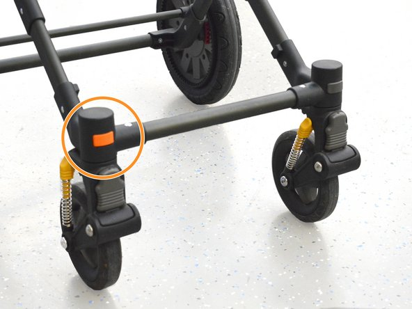 Bugaboo Cameleon 1 and 3 Swivel Wheel Lock Replacement