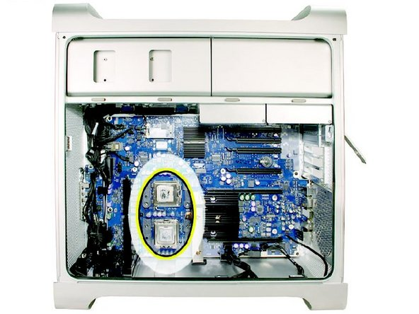 Replacing/Upgrading Mac Pro Processors (Early 2008)