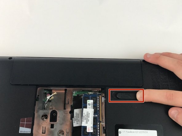 HP Pavilion G7-2235DX Battery Replacement