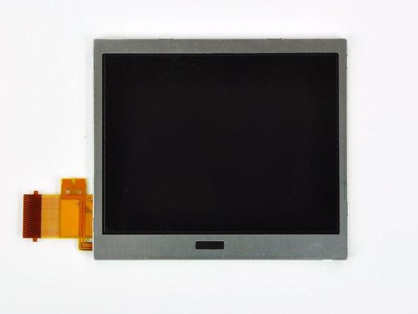 Das LCD ist frei.
