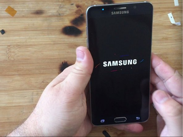 How to replace Samsung Galaxy Note 5 motherboard