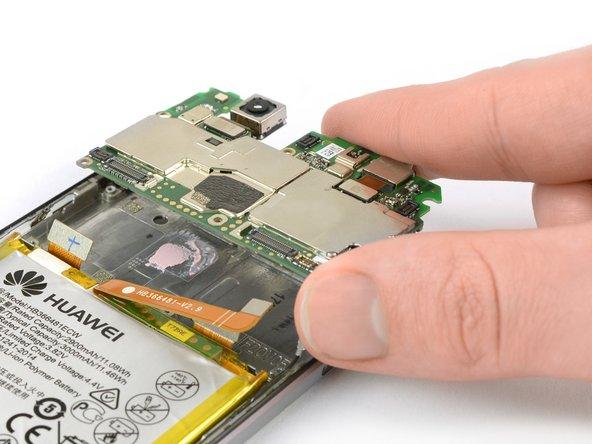 Substituição da placa-mãe do Huawei P10 Lite