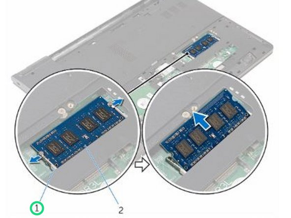 Dell Inspiron 15 3559 Memory Module Replacement