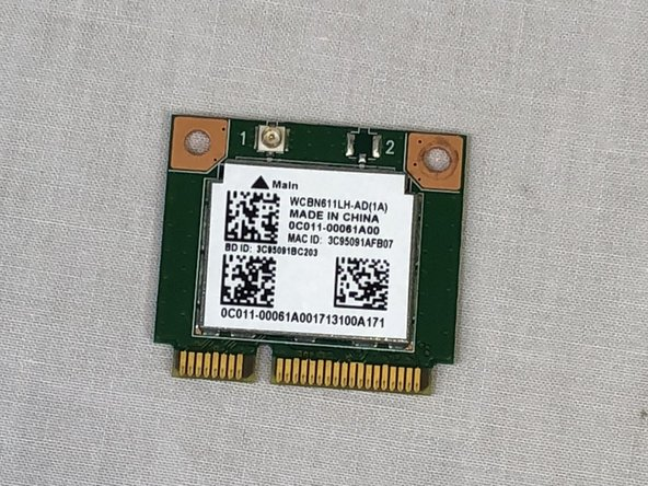 Asus Vivobook Max X541SA-PD0703X Wi - Fi Card Replacement