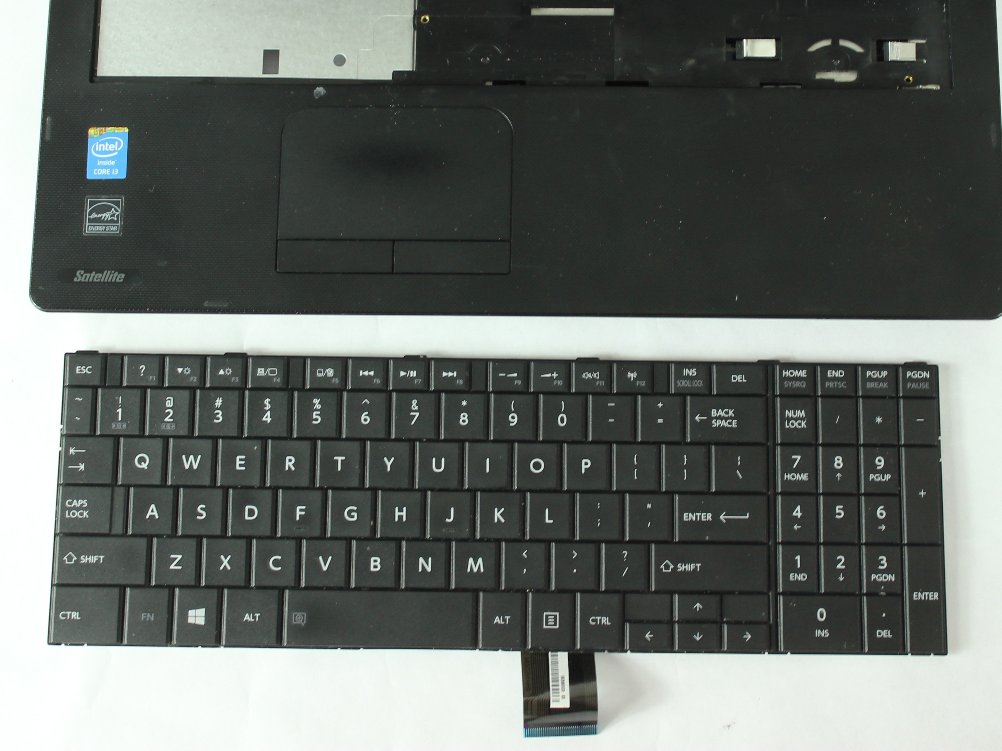 Toshiba Satellite C55 B5200 Keyboard Replacement Ifixit Repair Guide