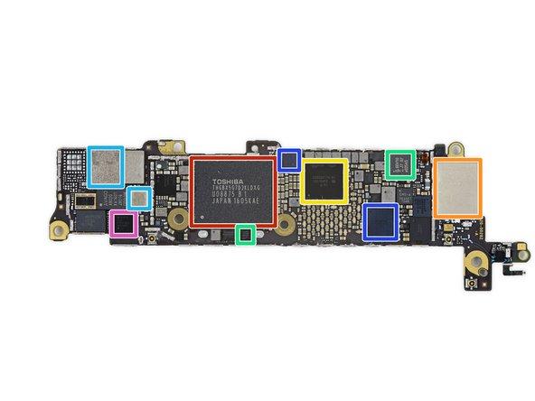Image 1/1: Toshiba THGBX5G7D2KLDXG 16 GB NAND Flash