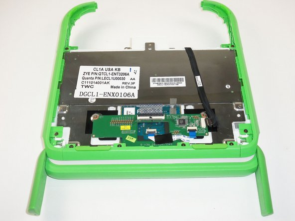 Image 1/1: This is similar to how the laptop was positioned when removing the battery, except now the white panel is gone.
