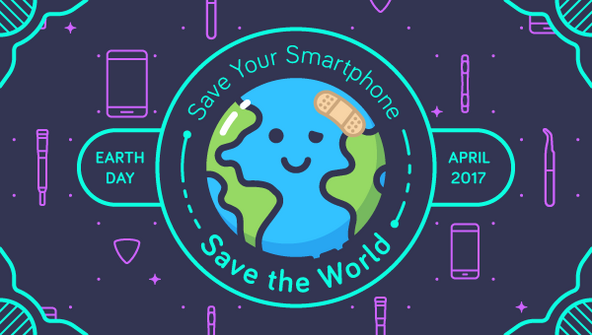 This Earth day, make your phone the greenest cell phone