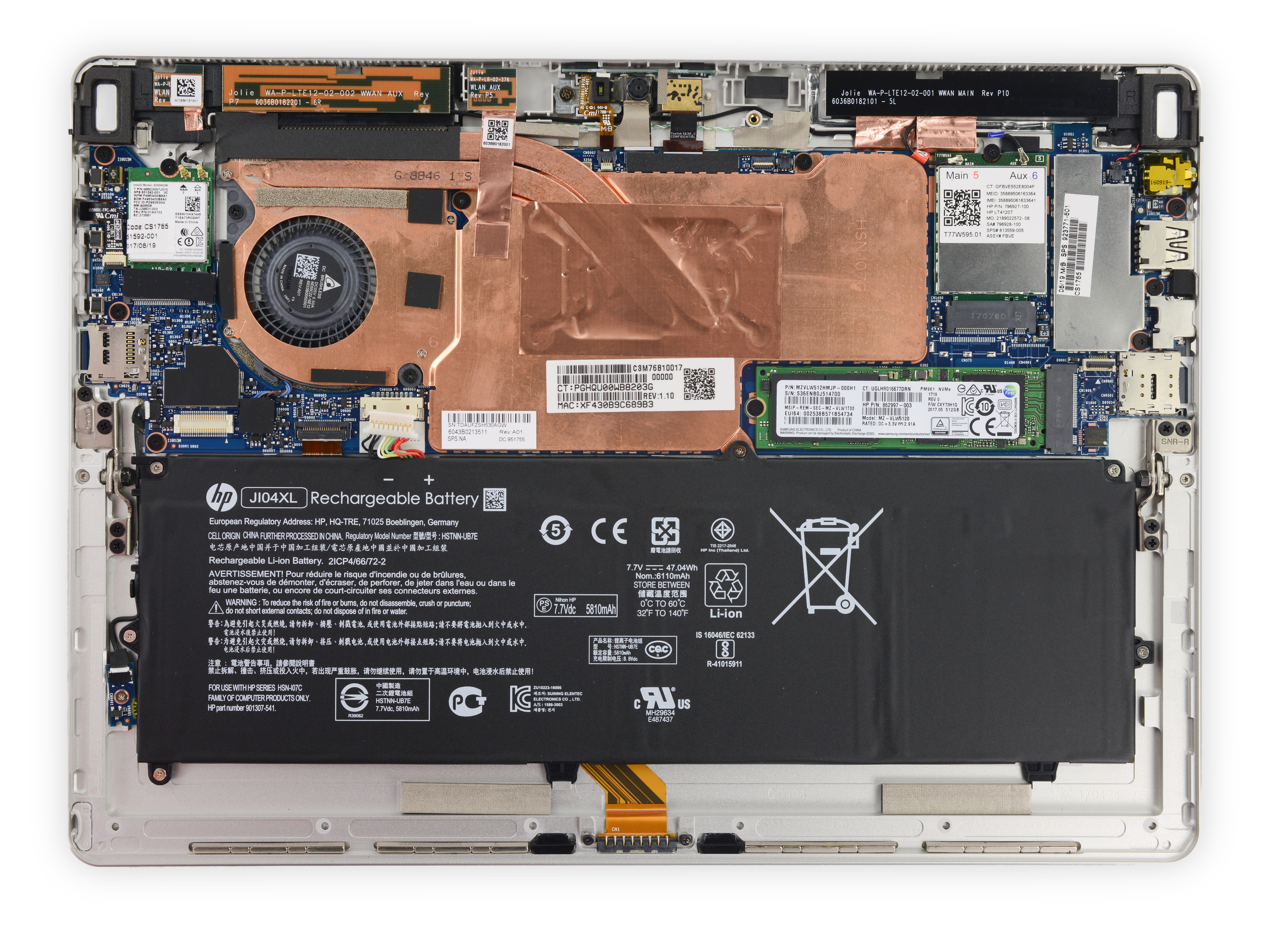 Industry News Page 14 Hp Elite X2 1012 G1 Tablet Energy Star Popping The Screen Off Reveals A Similar Layout To Last Years Model With Few Key Differences Right Bat We See That Has Added Separate