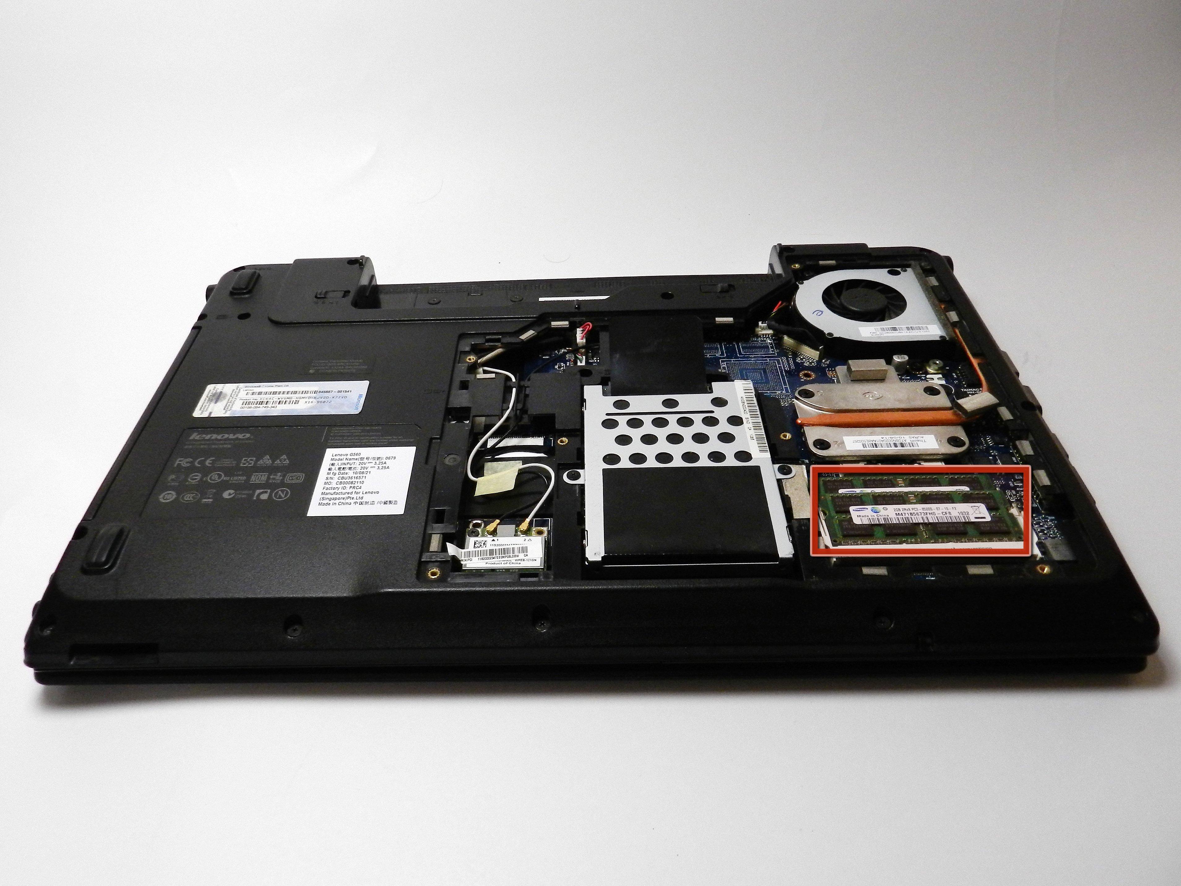 Lenovo Essential G560 RAM Replacement - iFixit Repair Guide