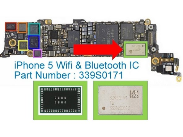 repairing iphone 5 greyed out wifi or disabled ifixit repair guide rh ifixit com iPhone Flashlight iPhone Battery