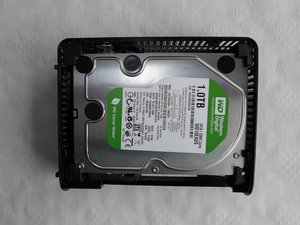Disassembling Western Digital Essentials HD Hard Drive