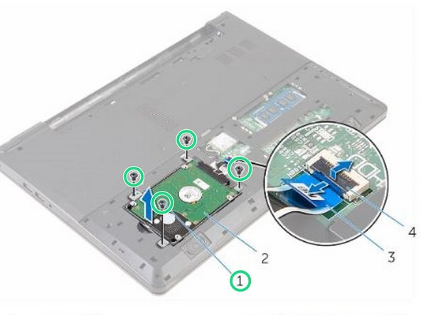 Dell Inspiron 15 3559 Hard Drive Replacement