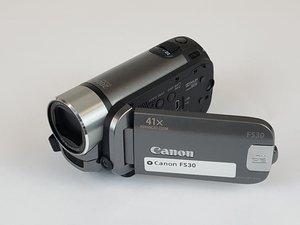 Canon FS30 Repair