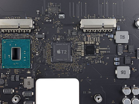Apple T2 chip in the MacBook Pro