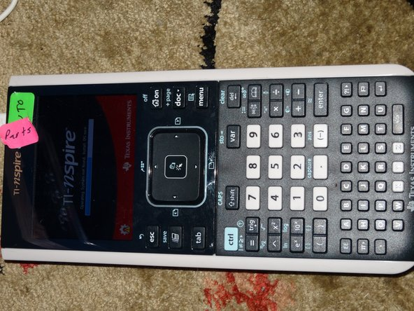 Texas Instruments TI-Nspire CX OS Replacement