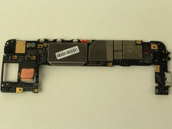 Motorola Moto G5 Plus Motherboard Disassembly