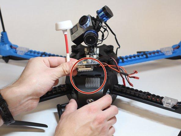 3DR Iris Plus Quadcopter Gimbal Removal Procedure