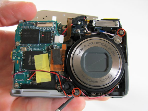 Nikon Coolpix P4 Motherboard Replacement