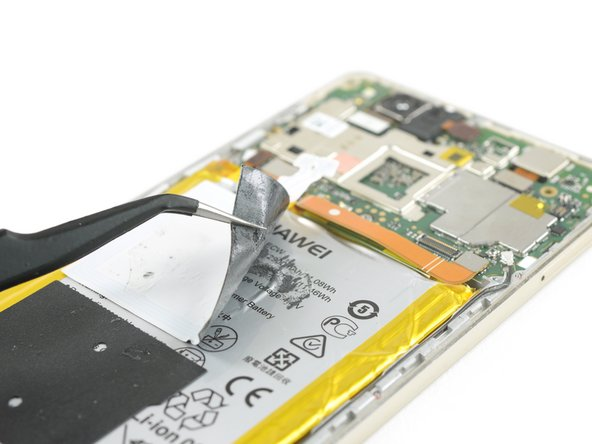 Peel off the NFC antenna from the battery.