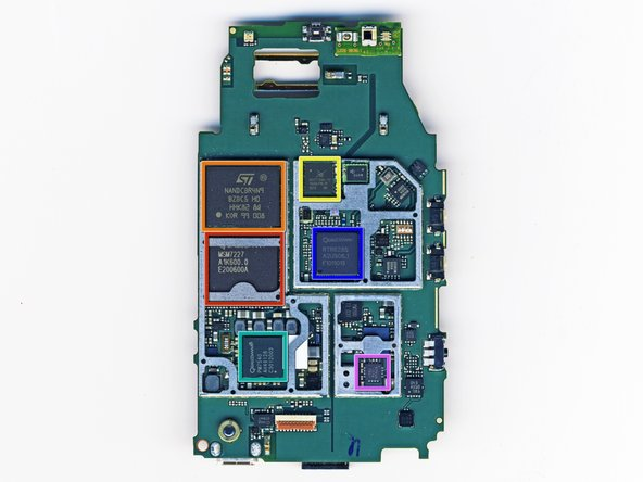 Image 1/2: A Qualcomm MSM7227 with 600 MHz application processing, 400 MHz modem processing, hardware accelerated 3D graphics, integrated Bluetooth 2.1 & GPS capabilities, and image/video encoding & decoding.