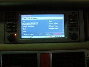 2003-2004 Range Rover Bluetooth