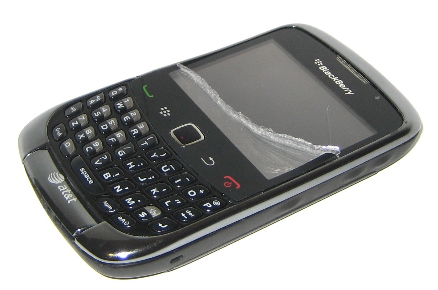 Blackberry Curve 9300 White Blackberry Curve 9300