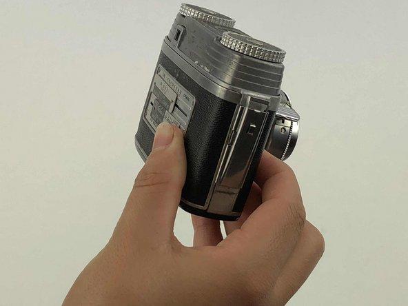 Kodak Signet 35 Back Cover Replacement