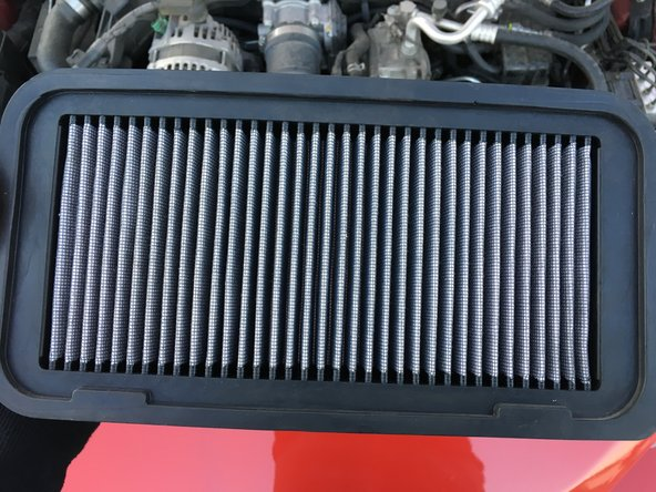 2013-2016 Scion FRS (Toyota gt86)  Engine Air Filter Replacement