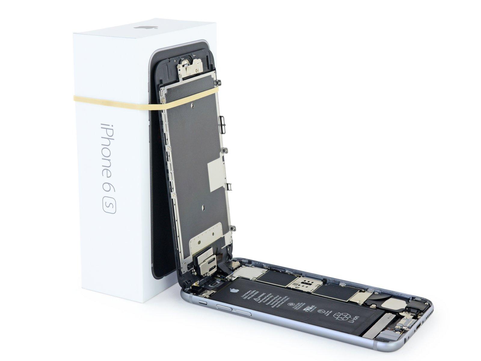 iPhone 6s Akku tauschen - iFixit Reparaturanleitung