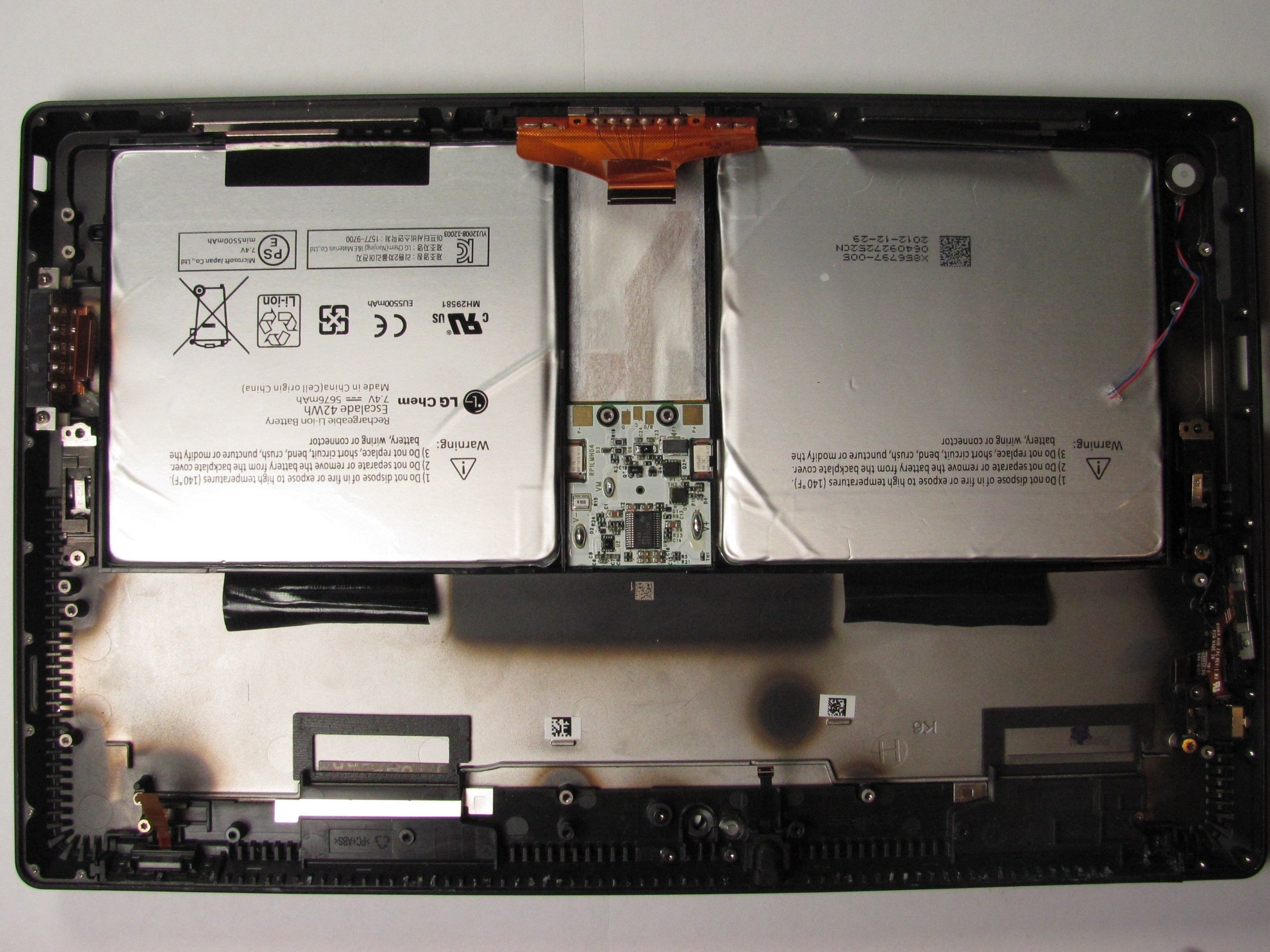 Microsoft Surface Pro Battery Replacement - iFixit Repair Guide