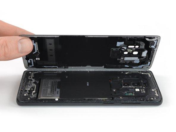 Samsung Galaxy S9 Plus Glasrückseite austauschen